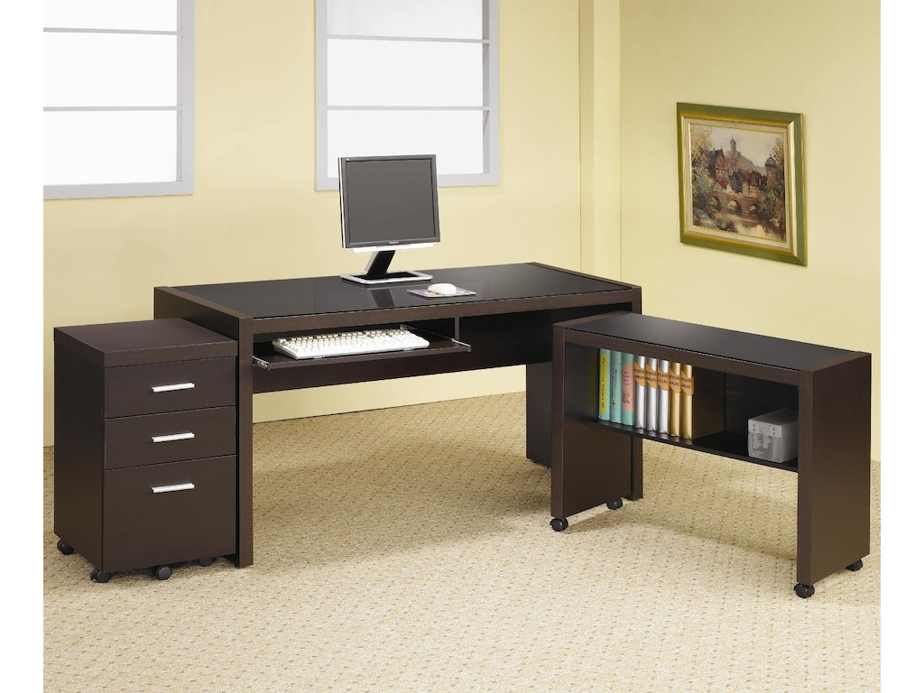 Coaster home office mobile file cabinet 800903 the - Home office mobel ...
