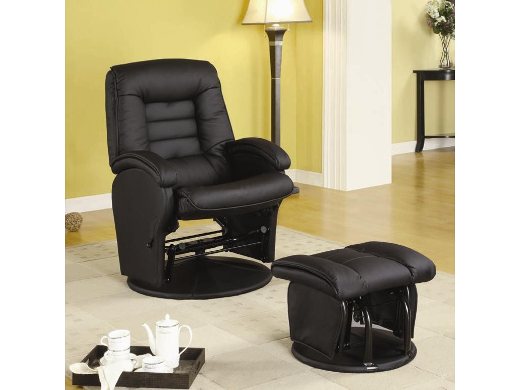 coaster living room glider 600166 fiore furniture company altoona pa. Black Bedroom Furniture Sets. Home Design Ideas