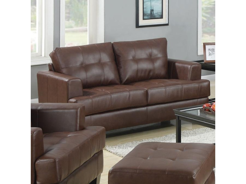 Coaster Living Room Loveseat 504072 The Furniture House Of Carrollton Carrollton Newnan