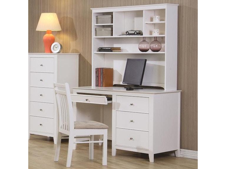 Coaster home office hutch 400238 simply discount furniture santa clarita and valencia ca - Discount home office furniture ...