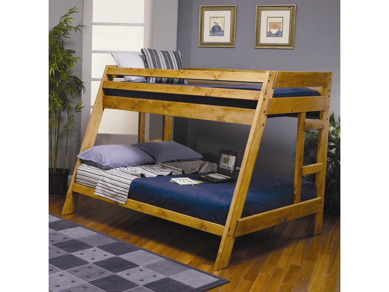 Coaster Youth Twin Over Full Bunk Bed 460093 Gallery Furniture