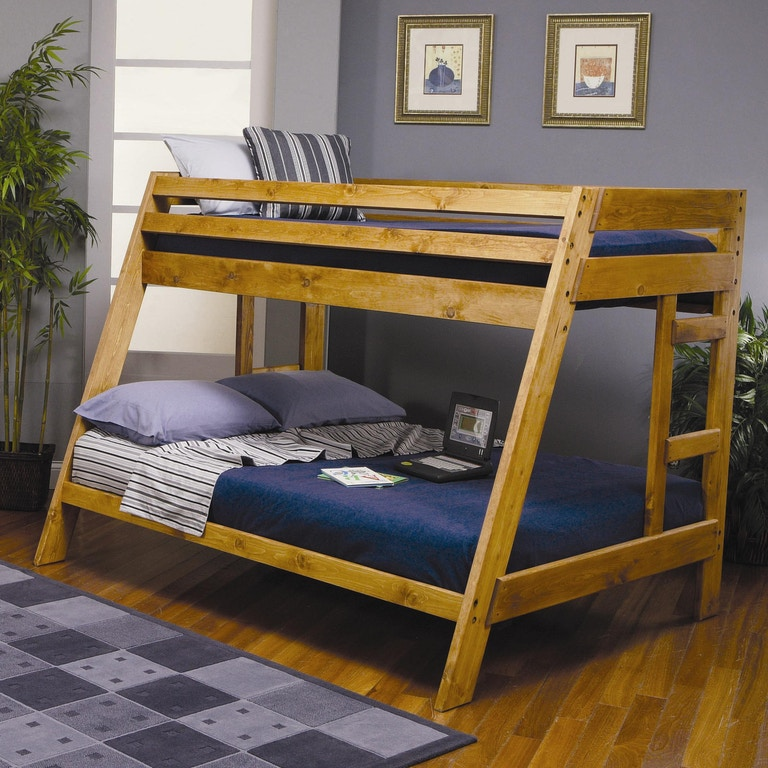 Coaster Youth Twin Over Full Bunk Bed 460093 - Furniture ...