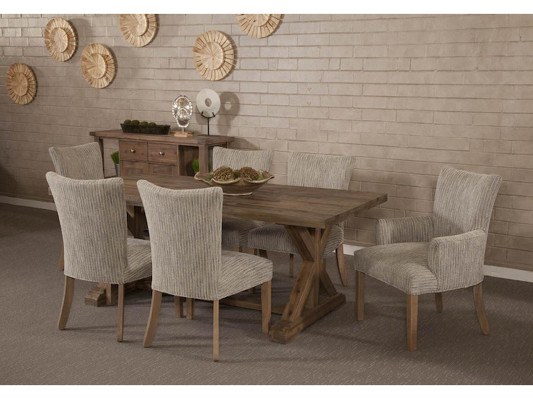 5734 Container Marketing Rustica Ash Grey Dining Table