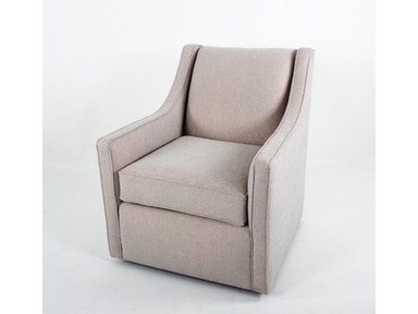 Container Marketing Contemporary Swivel Club Chair CC2411