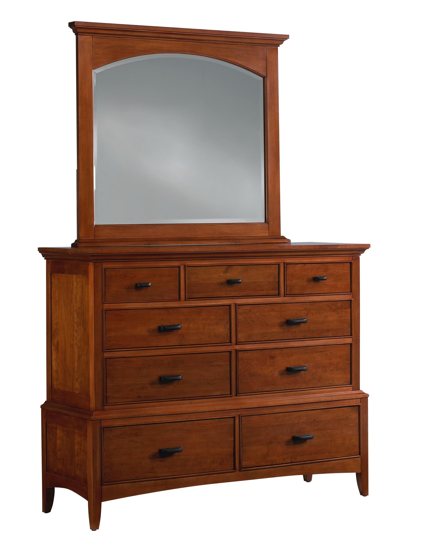Cresent Fine Furniture Modern Shaker Media Dresser 1301
