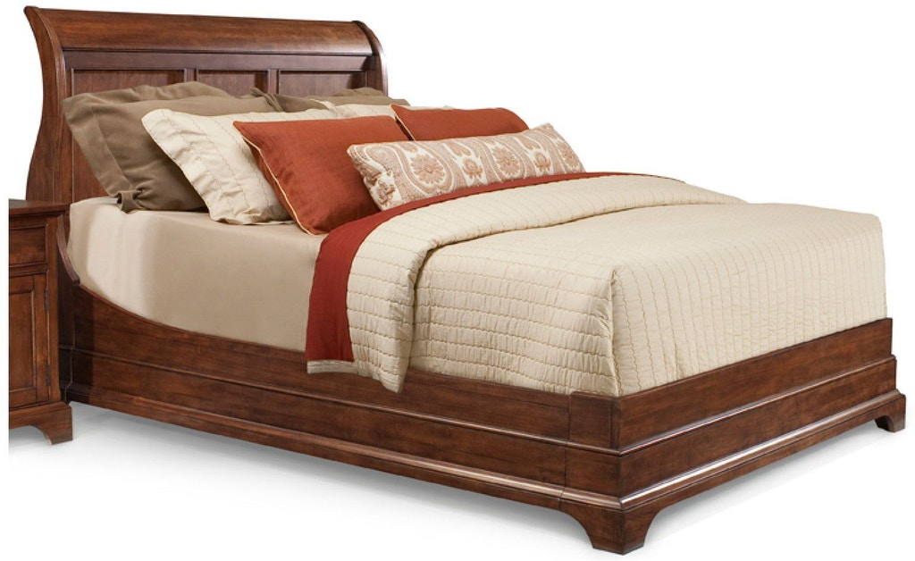 Cresent Fine Furniture Bedroom Retreat Cherry Sleigh Bed 1532 Sleigh Bed Brownlee 39 S Furniture