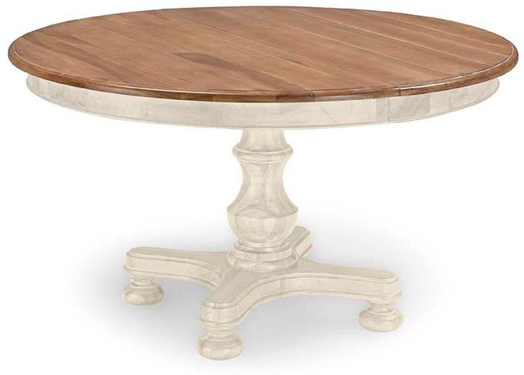 Cresent Fine Furniture Dining Room Cottage Round Table 201 ...