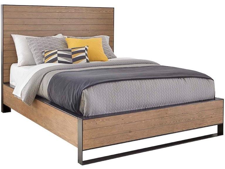 Cresent Fine Furniture Bedroom Edgefield Panel Bed, Queen 5/0 504 ...