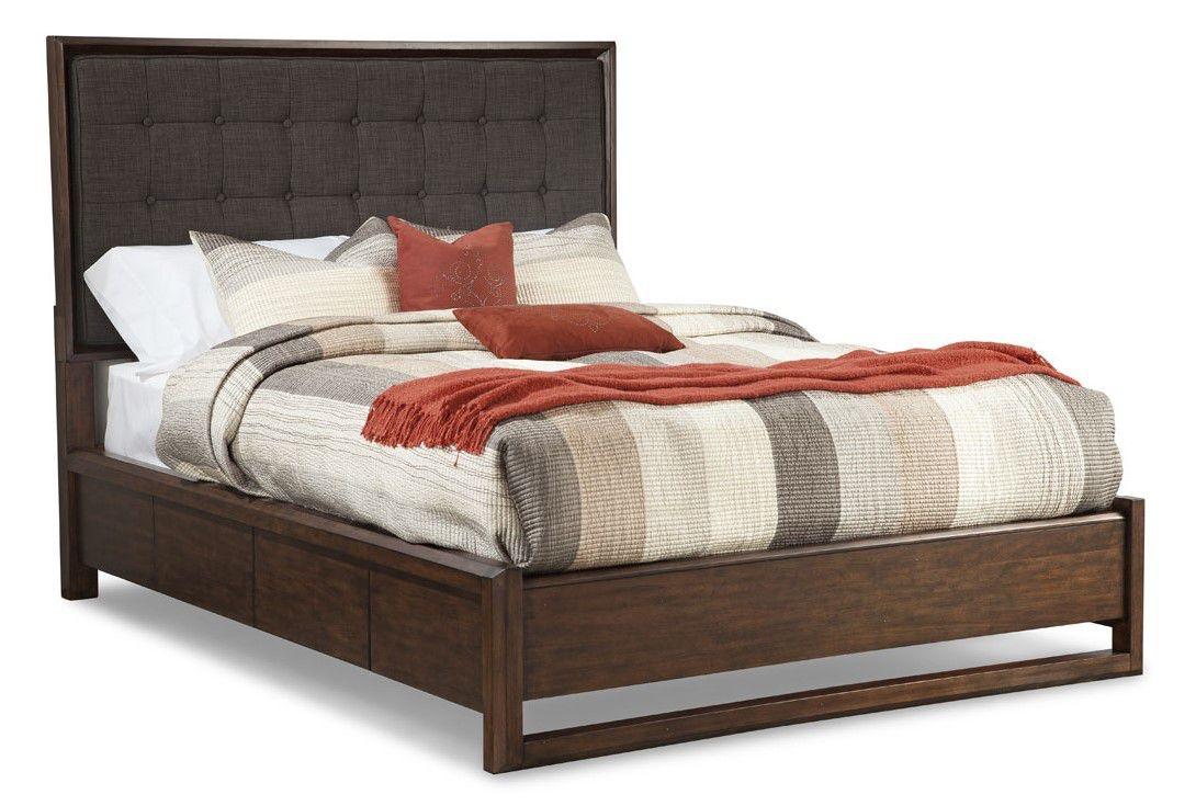 Cresent Fine Furniture Mercer Upholstered Bed, California King 6/0 5332  Cal King