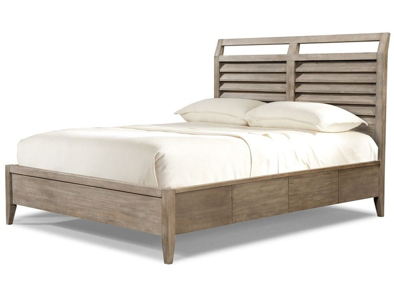Cresent Fine Furniture Bedroom Corliss Landing Shutter Sleigh Bed ...