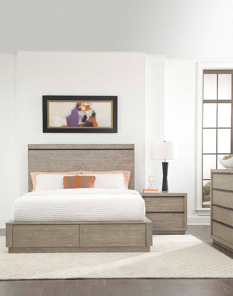 Wonderful Cresent Fine Furniture Larkspur Storage Platform Bed 503 131 Storage  Platform Bed Awesome Design