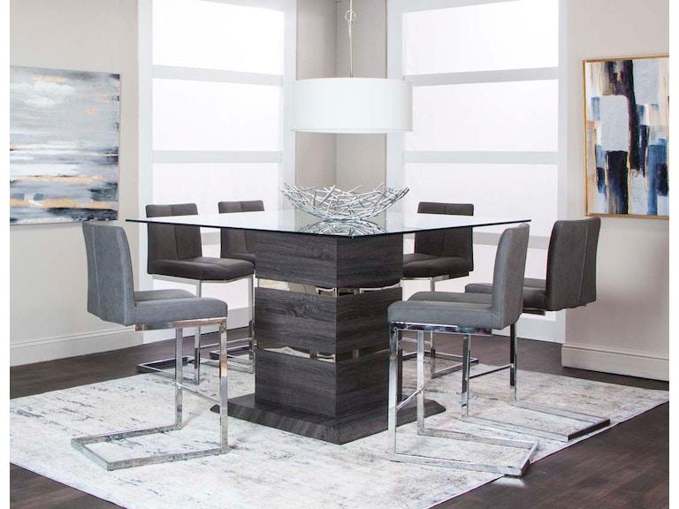 Cramco Bar And Game Room 7 Piece Pub Set G5182 749 Dewey Furniture