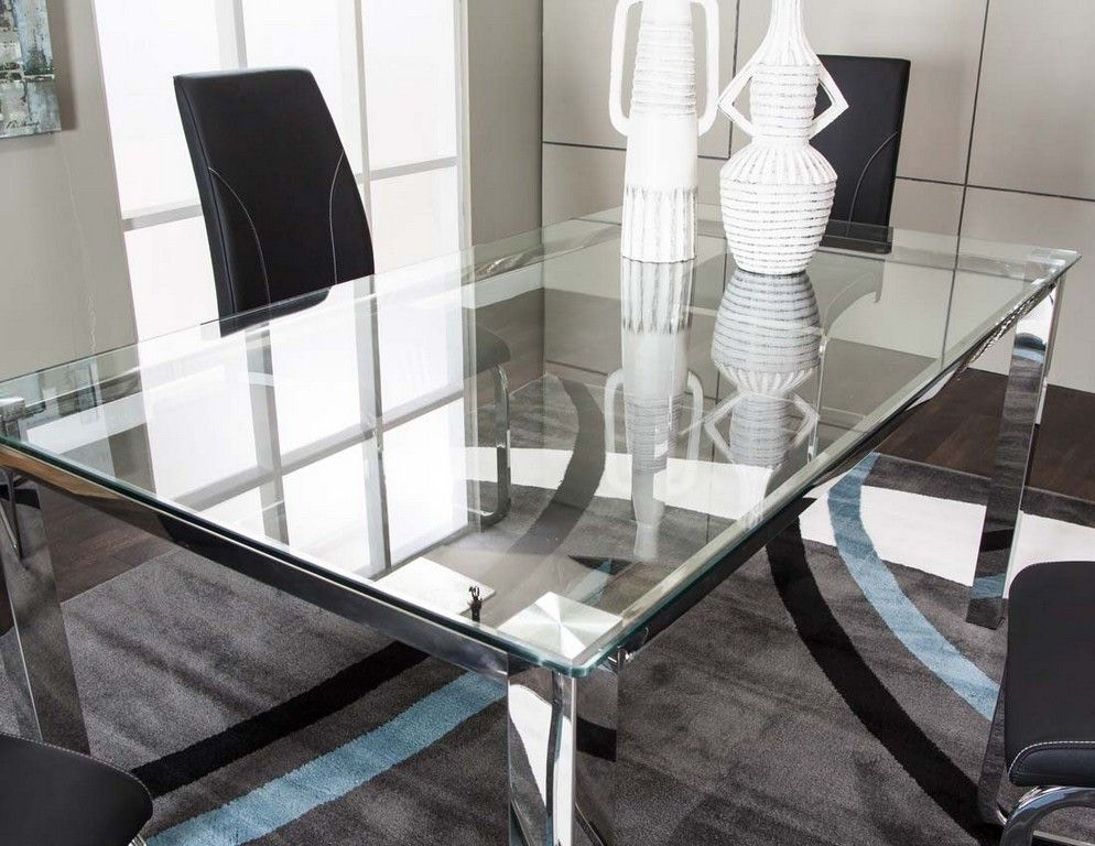 Cramco Dining Room Tempered Glass Table Top Nd658 41 Tt