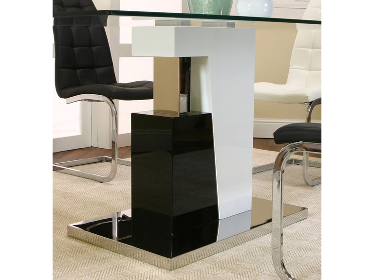 Cramco Black White Polyester Polyurethane Stainless Steel Table Base Ym535 47 Tb