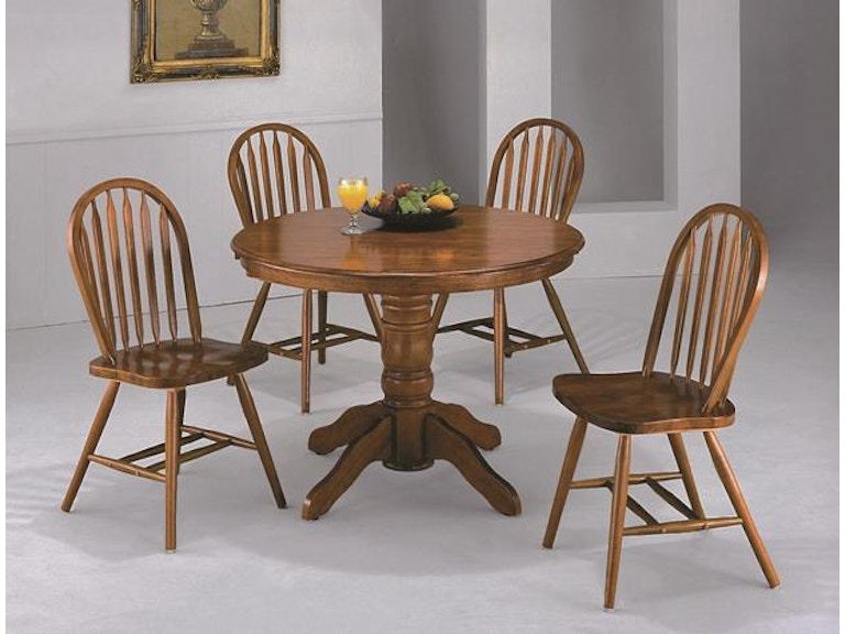 Crown Mark Dining Room Farmhouse Round 1056 5P 2305