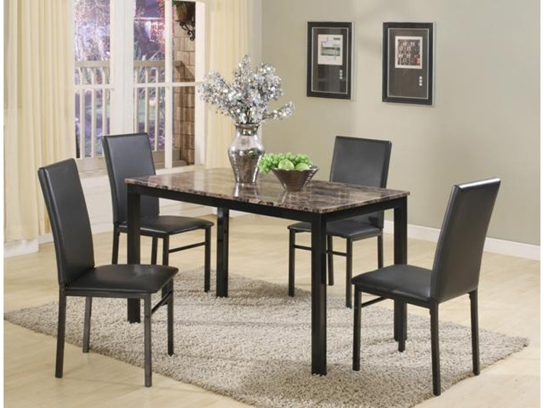 Crown Mark Aiden 5 PK Dinette 1217SET