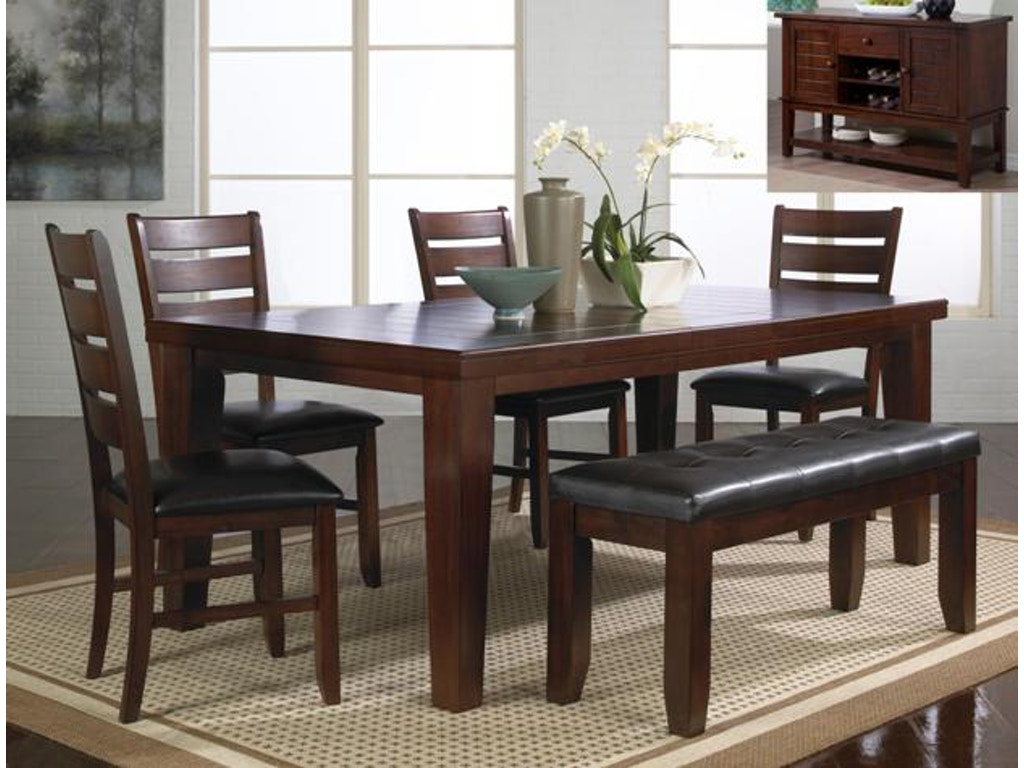 Crown mark dining room bardstown bench 2152 bench for Furniture markup