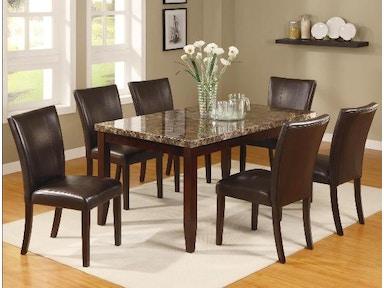 Crown Mark Dining Room Ferrara Dining 2221 7p Markson S Furniture Rochester Ny