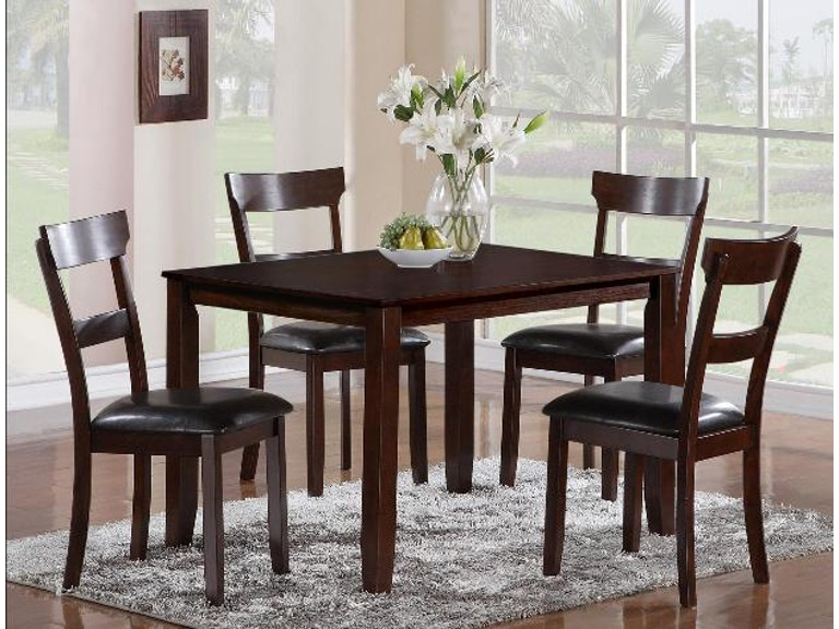 Crown Mark Henderson 5 PK Dinette Set 2254SET