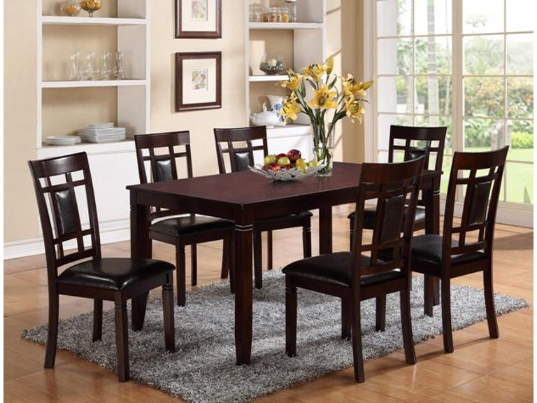 Crown Mark Paige 7 PC Dinette Set 2325SET