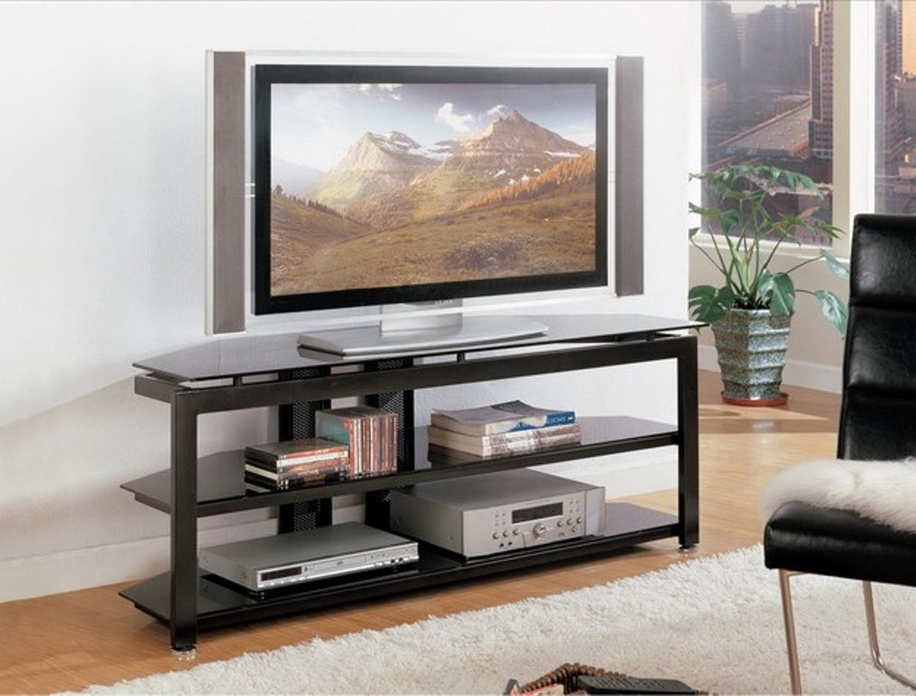 Crown mark home entertainment delta tv stand base 4816 for Home theater furniture louisville ky