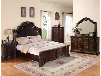 Crown Mark Sheffield 5pc Bedroom Group SETB1100-QUEEN