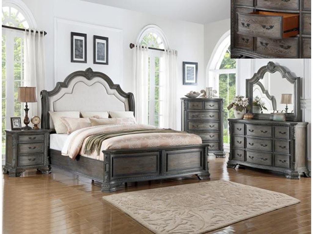 Crown Mark Sheffield Bedroom Group Setb1120 Charter Furniture Dallas Fort Worth Tx