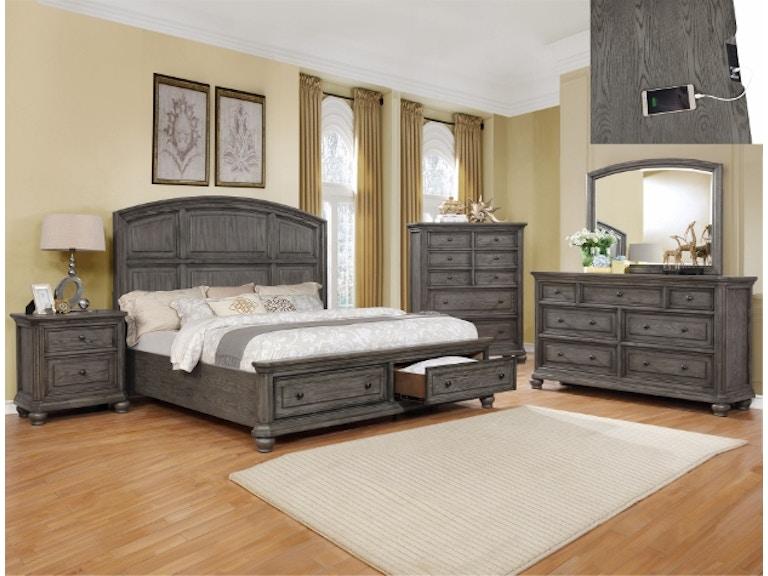 Crown Mark Bedroom Lavonia Dresser B1880-1 - Furniture Marketplace ...
