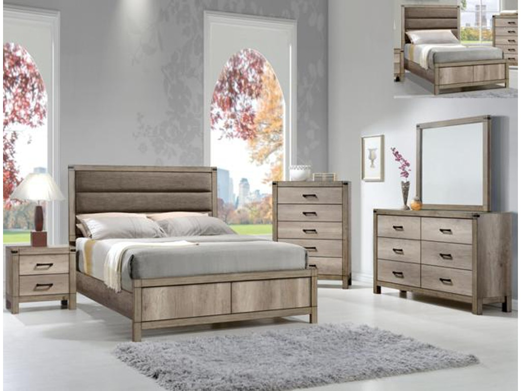 Crown Mark Matteo Bedroom Group Setb3200 Winner Furniture Louisville Owensboro And Radcliff Ky