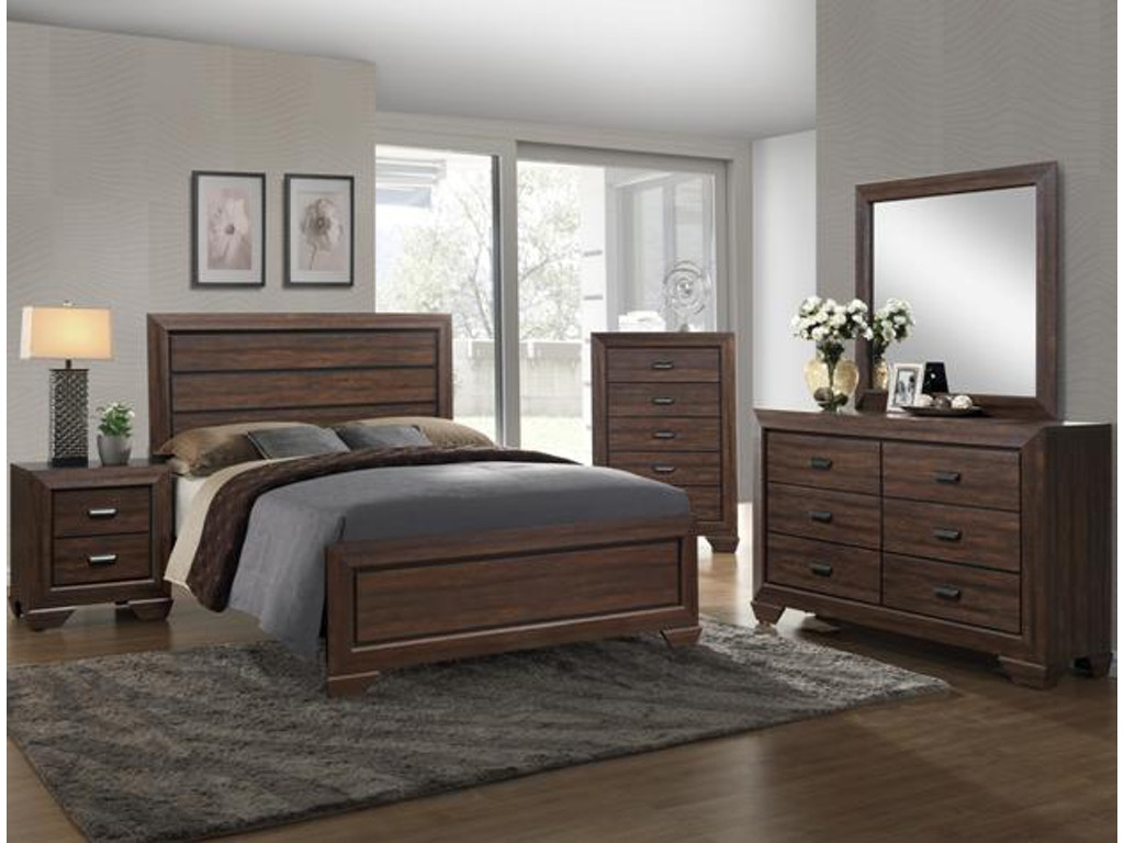 Crown Mark Bedroom Farrow Chest Chocolate B5510 4 Winner Furniture Louisville Owensboro
