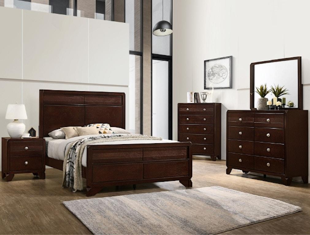 Crown Mark Tamblin Bedroom Group SETB6850 - Furniture ...