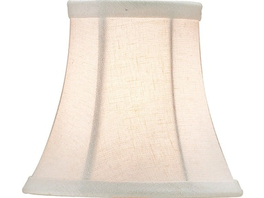 Currey and Company Bone Linen Shade, Small 0375