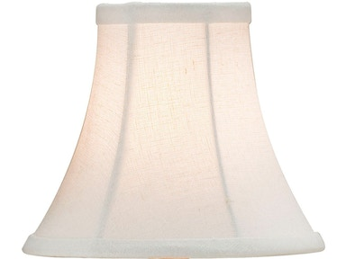 Currey and Company Bone Linen Shade, Medium 0407
