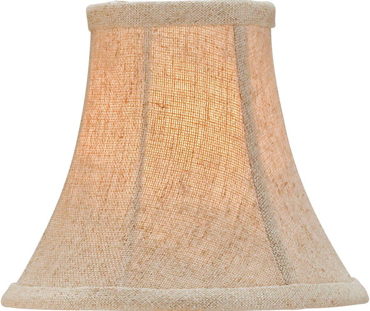 Currey and company natural linen shade medium 0412