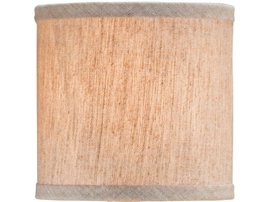 Currey and Company Natural Linen Shade 0421