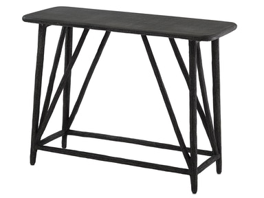 Currey and Company Arboria Console Table 2000-0001