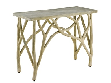 Currey and Company Creekside Console Table 2037