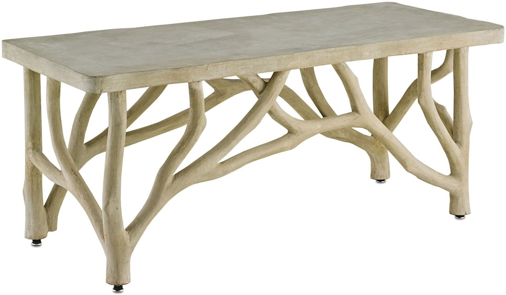 Currey And Company Outdoorpatio Creekside Table Bench 2038