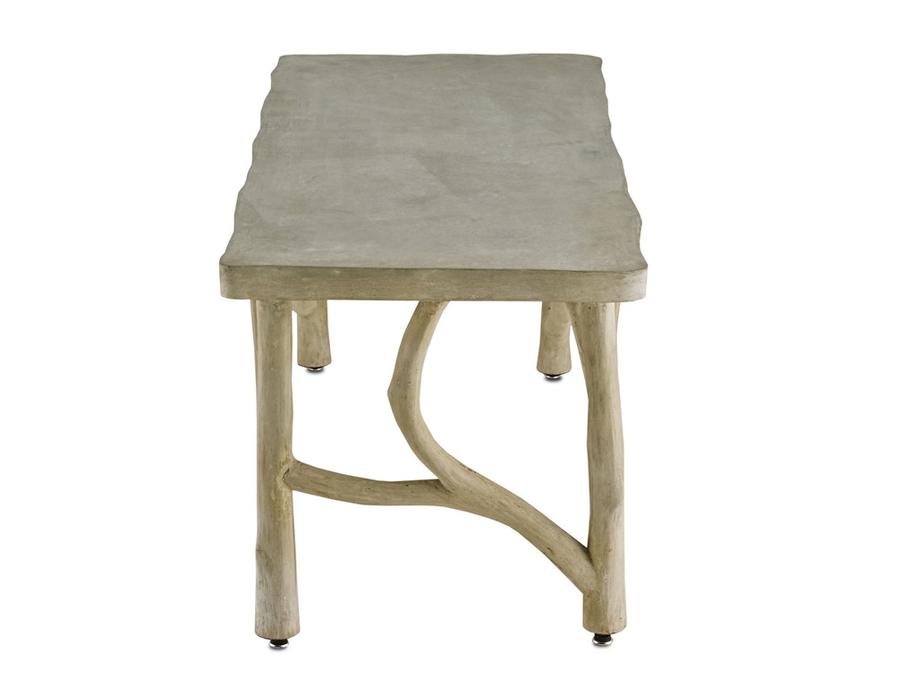 Currey And Company Living Room Creekside Table Bench 2038 Hickory Furniture Mart Hickory Nc