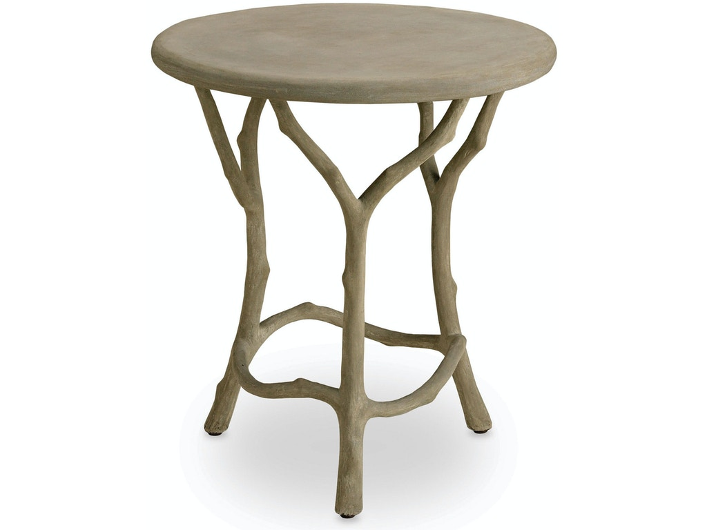 Currey And Company Outdoor Patio Hidcote Accent Table 2373 Howell Furniture Beaumont And