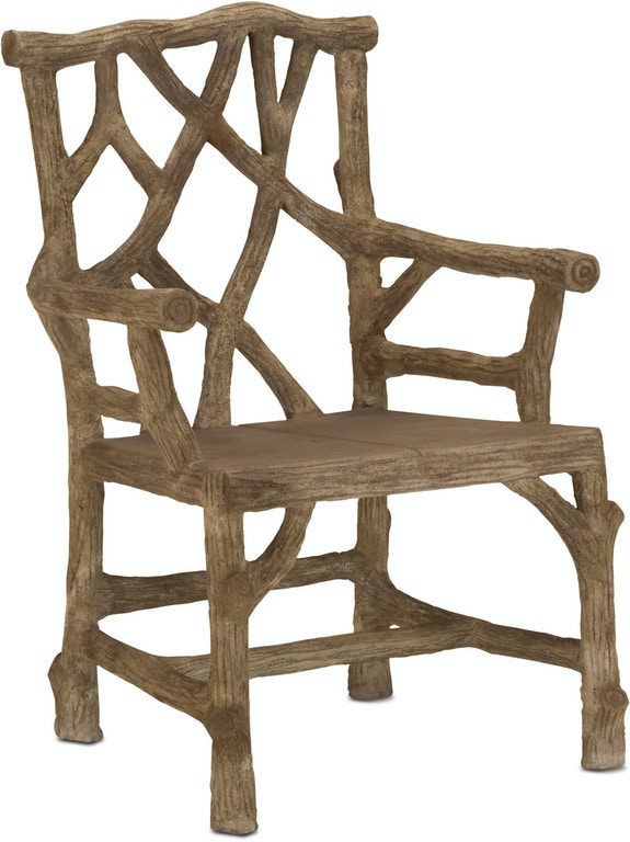 Super Currey And Company Outdoor Patio Woodland Arm Chair 2706 Bralicious Painted Fabric Chair Ideas Braliciousco