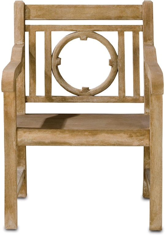 Currey And Company Outdoor Patio Leagrave Chair 2723