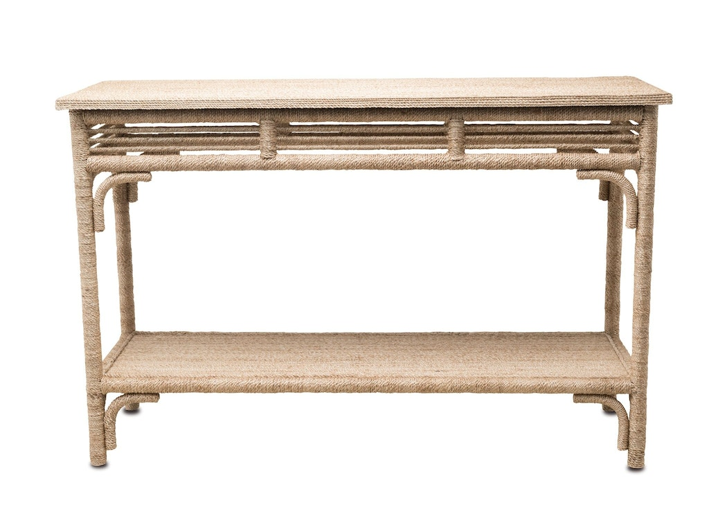 Currey And Company Living Room Olisa Console Table 3000 0012 Howell Furniture Beaumont And