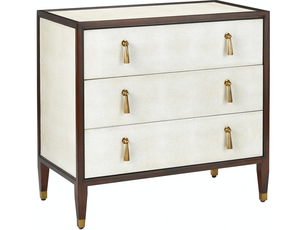 Currey And Company Bedroom Evie Shagreen Chest 3000 0141 Howard Lorton Furniture Design