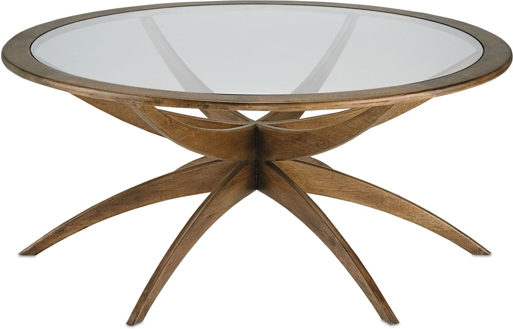 Currey and company living room ellen coffee table 3231 - Living room furniture fort myers fl ...