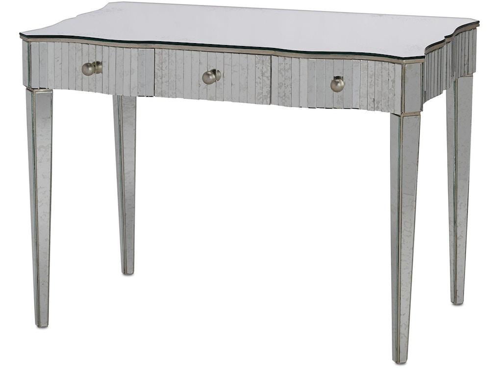 Currey And Company Bedroom Gilda Vanity Table 4004 Brownlee 39 S Furniture Lawrenceville Ga