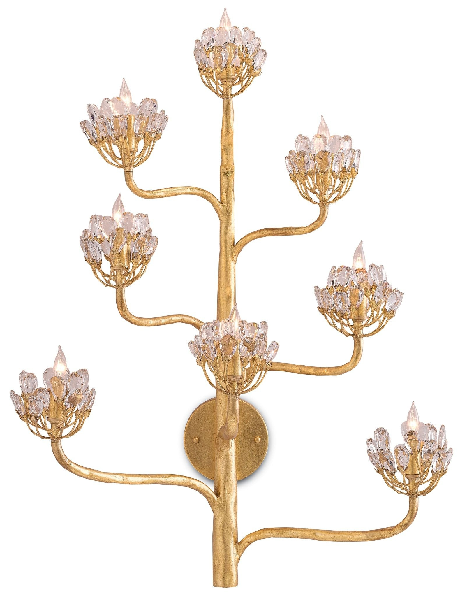 Currey and Company Agave Americana Wall Sconce 5000-0058  sc 1 st  Studio 882 & Currey and Company Lamps and Lighting Agave Americana Wall Sconce ...