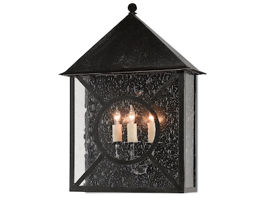 Currey and Company Ripley Outdoor Wall Sconce 5500-0002