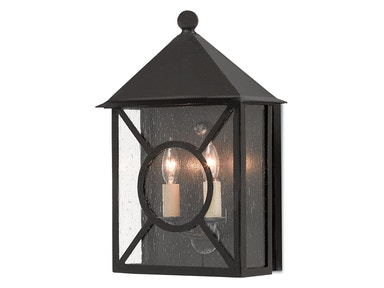 Currey and Company Ripley Outdoor Wall Sconce 5500-0003
