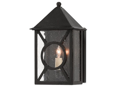 Currey and Company Ripley Outdoor Wall Sconce 5500-0004